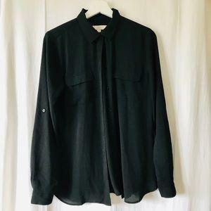 Loft flowy blouse